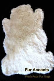 new plush faux fur sheepskin care bear accent rug white 30 x 50 teddy bear toss rug baby nursery photography prop
