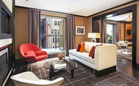 Leather Bedroom Suite The Chatwal New York City Producer One Bedroom Suite With Rooftop