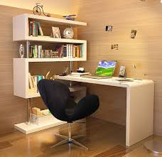 large white office desk. white contemporary office desk with large bookcase