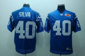 Jersey Colts Patch Jamie Bowl Stitched Cheapest Sale With Blue Shipping Nfl 40 Free Super Silva