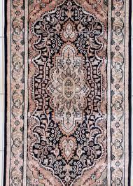 wool silk oriental fl design ter rug