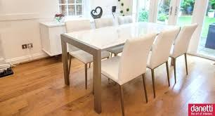 round white gloss dining table dining room modern white high gloss dining table design with open