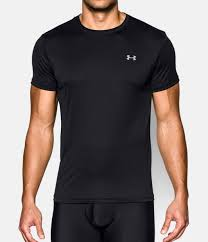 under armour undershirt. black , zoomed image under armour undershirt l