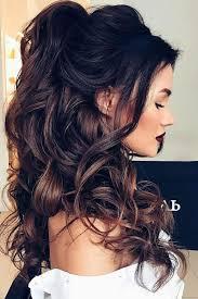 Image Coiffure Pour Mariage Cheveux Mi Long Bouclés Coupe De
