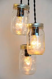 ball jar lighting. Mason Jar Chandelier - Pendant Light Lamp Ball Fixture Plug In Decor Lighting