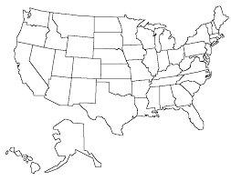 Us Map Editable United State Map Template Under Fontanacountryinn Com