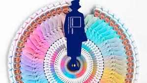 Pantone Colour Wheel Chart Pantone Queen 60 Years Of Matching Colour Yatzer