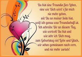Du Bist Eine Freundin Fürs Leben Eine Wie Dich Wirds Für Mich