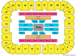 High Quality Seating Chart For Roanoke Civic Center Berglund