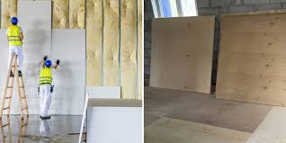 comparison of drywall vs plywood for