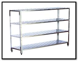 metal rack shelves