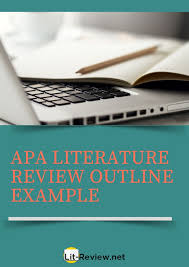 Professional Apa Literature Review Outline Example