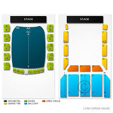 Modell Lyric Seating Chart Modell Performing Arts Center At The Lyric Tickets