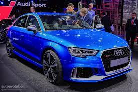2018 audi rs3. perfect audi 2017 audi rs3 sedan my 2018 for us market live at 2016 paris motor  inside audi rs3