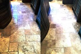 travertine flooring cost sealing