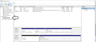 Bilgisayarıma format attım d diski görünmüyor