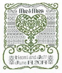 Wedding Cross Stitch Patterns Impressive Imaginating Mr Mrs Wedding Cross Stitch Pattern 48Stitch