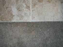 tile to carpet transition concrete floor carpet to tile transition on concrete floor design laminate flooring tile to carpet transition concrete