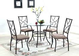 metal dining room chair four chair dining table set fresh metal dining chairs set 4 dining