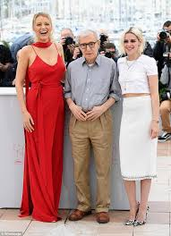 ronan farrow pens blistering essay about woody allen getting in  blake lively director woody allen and kristen stewart attend the cafe society photocall