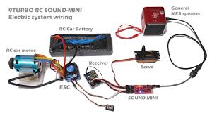 9turbo sound mini 9turbo rc sound mini is sound module for rc electric car this sound module will generate engine sound that synchronize transmitter trigger stick