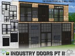created by buffsumm industry build doubledoors created for the sims 4 the industry series continues with the doubledoors in all 3 wallhights  on the sims resource sims 3 wall art with https www thesimsresource artists buffsumm downloads details