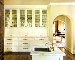 white hutch with glass doors kitchen built in white hutch with glass doors