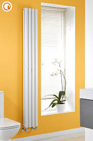 Slimline Designer Radiators Milano Aruba Slim White Space Saving Vertical Designer