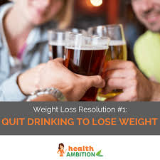 a group of people toasting with beer with the caption weight loss resolution