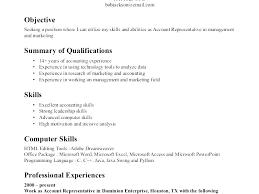 Resume Qualifications Unique Resume Qualifications List Resume Ideas