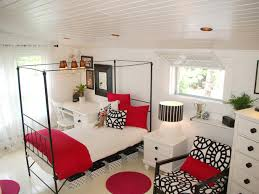 bedroom ideas for teenage girls red. Black And White Teen Girl Ideas Teenage Girls Red Bedroom For A