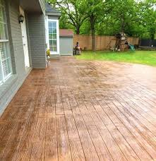 wood patio ideas best stamped concrete patios ideas on backyard wood patio wood porch step ideas