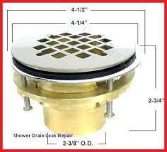 fix leaking shower drain fix leaking shower drain shower drains concept of of bathtub drain leak