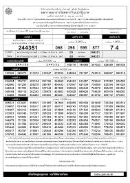 ตรวจลอตเตอรี่ย้อนหลัง และการตรวจหวยที่มีความเที่ยงตรง –  ตรวจสลากกินแบ่งรัฐบาล 01/07/2561