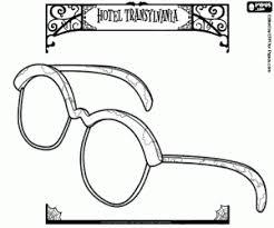 Kleurplaat De Onzichtbare Man Bril Kleurplaten