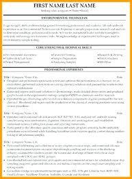 Oil Field Resume Interesting Instrument Technician Resume Oil And Gas Pdf Instrumentation Resumes