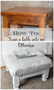 Diy Coffee Table Ottoman Diy Coffee Table Turned Ottoman Timeless Creations Llc
