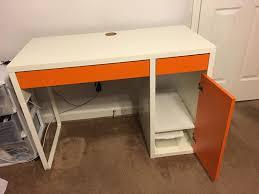 now it was time to figure out how i wanted to decorate it what s funny is i was looking at this same desk on ikea s website in all white so was