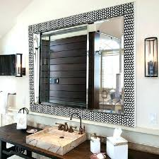 wood framed bathroom mirrors. Stunning Silver Framed Mirror Bathroom Wood Mirrors Large Furniture