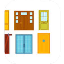 Open front door illustration Shop Building Set Of Color Doors Isolated On White Colorful Front Doors To Houses And Buildings Set Designs Mein Mousepad Design Mousepad Selbst Designen Designs Mein Mousepad Design Mousepad Selbst Designen