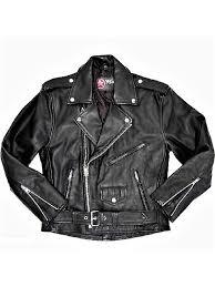 mens ramones de luxe leather jacket