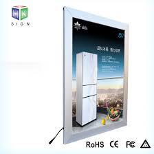 Aluminium Frame Led Light Box Aluminum Poster Snap Frame Led Slim Light Box In Advertising