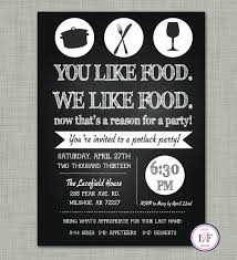 birthday dinner party invitations great party invitation wording food