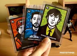 Trading Card Design Gum Cards By James White Go Media Creativity At Work