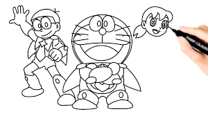 Terdapat banyak pilihan penyedia file. Vova Draw Color Draw And Color Nobita Shizuka Doraemon Cartoon Éラえもんの色付け Facebook