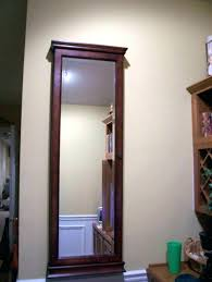 wall mounted jewelry armoire hanging jewelry over the door mirrored hanging jewelry furniture tall wall