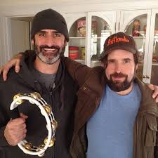 Two of my favorite people in the world, together, in one picture, with a  tambourine. Brody Stevens & Duncan Trussell | Duncan trussell, People, One  pic