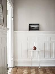 4 elegant half wall wood panelling ideas