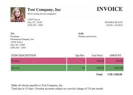 Free Invoice Templates You Can Use Right Now Bplans Non
