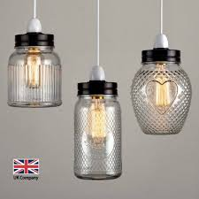 lamp shades designnt pluto goldnts light uk company vintage retro style glass jar ceiling lights lampshades three lamps lighting replacement globes